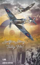 Eduard 11146 Spitfire Story Tally Ho! Mk.IIa & Mk.IIb 1:48 Plastic Model Kit
