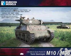Rubicon Models 280029 M10 / M36 Tank Destroyer 1:56 Plastic Model Kit