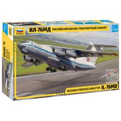 ZVEZDA 7011 llyushin IL-76 MD Heavy Transport Plane 1:144 Aircraft Model Kit.