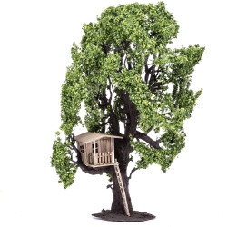 Hornby Scenics R7224 Tree with Tree House Scenic Materials