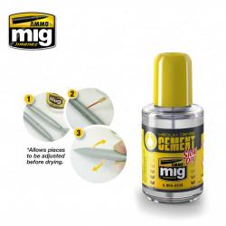 Ammo by Mig Medium Dense Cement For Model Kits Mig 2038