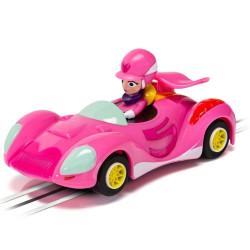 MICRO SCALEXTRIC Car G2166 Wacky Races Penelope Pitstop Car