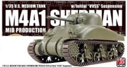 Asuka 35AS001 M4A1 U.S. Sherman Value Kit 1:35 Plastic Model Kit