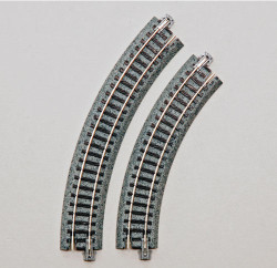 Kato Unitrack Compact (R117-45) Curved Track 45 Degree 4pcs N Gauge 20-176