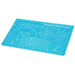 TAMIYA 74142 Cutting Mat Size:A5 / Blue  Model Kit Accessory