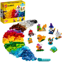 LEGO Classic 11013 Creative Transparent Bricks