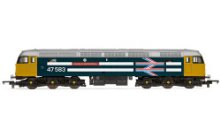 Hornby Railroad Loco R30040TTS BR, Class 47, Co-Co, 47583 'County of Hertfordshire' - Era 7