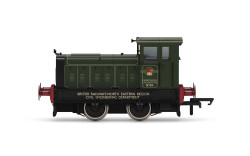 Hornby Loco R3896 BR, Ruston & Hornsby 88DS, 0-4-0, No. 84 - Era 6
