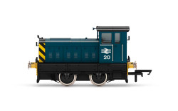 Hornby Loco R3897 BR, Ruston & Hornsby 88DS, 0-4-0, No. 20 - Era 7