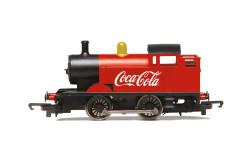 Hornby Loco R3955 Coca-Cola, 0-4-0T Steam Engine