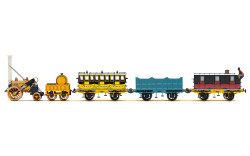 Hornby Train Pack R3956 L&MR, Stephenson's Rocket Royal Mail Train Pack - Era 1