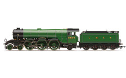 Hornby Loco R3989 LNER, A1 Class, 2564 'Knight of Thistle' (diecast footplate and flickeirng firebox) - Era 3