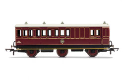 Hornby Coach R40093 NBR, 6 Wheel Coach, Unclassed (Brake 3rd) Coach, 472 - Era 2