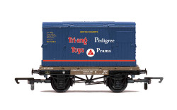Hornby Wagon R60032 BR, Conflat A, Tri-ang - Era  5