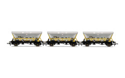 Hornby Wagon Pack R60067 HFA Hopper Wagons, Three Pack, BR Coal Sector - Era 8