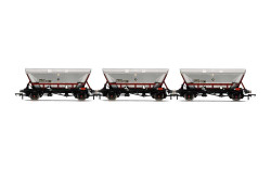 Hornby Wagon Pack R60069 HFA Hopper Wagons, Three Pack, EWS - Era 9