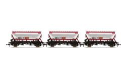 Hornby Wagon Pack R60071 CDA Hopper Wagons, Three Pack, EWS - Era 9
