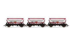 Hornby Wagon Pack R60071 CDA Hopper Wagons, Three Pack, EWS - Era 9