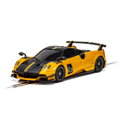 Scalextric Slot Car C4212 Pagani Huayra Roadster BC - Yellow