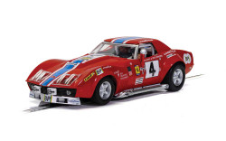 Scalextric Slot Car C4215 Chevrolet Corvette L88 - LeMans 1972 - NART