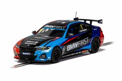 Scalextric Slot Car C4225 BMW 330i M-Sport BTCC 2020 - Colin Turkington
