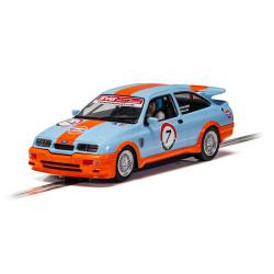 Scalextric Slot Car C4231 Ford Sierra RS500 - Gulf Edition - Richard Millar
