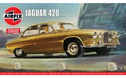 Airfix A03401V Jaguar 420 1:32 Plastic Model Car Kit