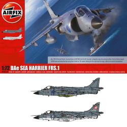 Airfix A04051A Bae Sea Harrier FRS1 1/72 1:72 Plastic Model Kit