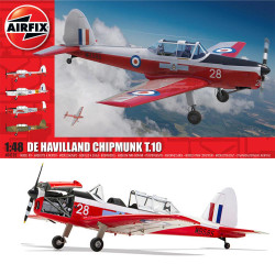 Airfix A04105 de Havilland Chipmunk T.10 1:48 Plastic Model Kit