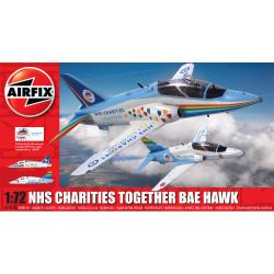 Airfix A73100 NHS Charities Together Hawk 1:72 Plastic Model Kit