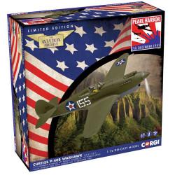 Corgi AA28105 P40 Warhawk Pearl Harbor 80th Anniversary 1:72 Diecast Model