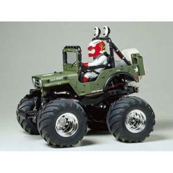 TAMIYA RC 58242 Wild Willy 2 WR-02 1:10 Assembly Kit