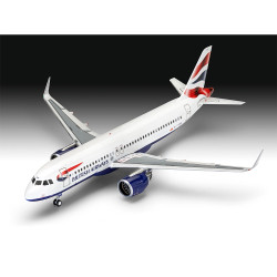 "Revell 03840 Airbus A320neo ""British Airways"" 1:144 Plastic Model Kit"