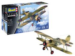 Revell 03846 Gloster Gladiator Mk. II 1:32 Plastic Model Kit
