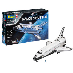 Revell 05673 Gift Set Space Shuttle 40th Anniversary 1:72 Plastic Model Kit