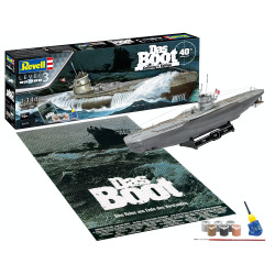 "Revell 05675 Gift Set ""Das Boot"" Movie 40 Years Collectors Edition 1:144 Plastic Model Kit"