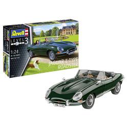 Revell 07687 Jaguar E-Type Roadster 1:24 Plastic Model Kit