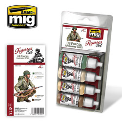 Ammo by Mig Us Forces Uniforms WWII For Model Kits Mig 7022