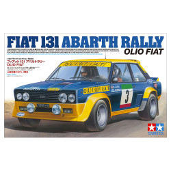 Tamiya 20069 Fiat 131 Abarth Rally Olio Fiat 1:20 Plastic Model Car Kit