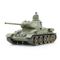 Tamiya 32599 Russian Medium Tank T-34-85 1:48 Plastic Model Tank Kit