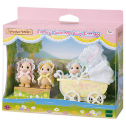 Sylvanian Families Darling Ducklings Baby Carriage 5601
