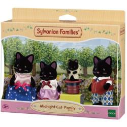 Sylvanian Families Midnight Cat Family 5530