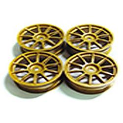 Tamiya 51022 Medium Narrow 10-Spoke Wheels (Offset 0) 4Pcs (Subaru Impreza) NIP