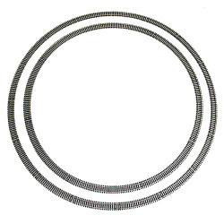 HORNBY Double Loop Track R605 x8 R607 x8