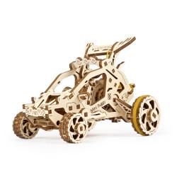 UGEARS Mini Buggy Mechanical Wooden Model Kit 70142