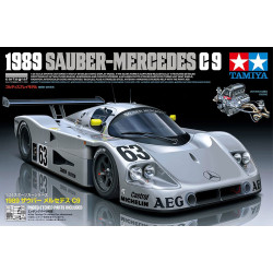 Tamiya 24359 1989 Sauber Mercedes C9 1:24 Plastic Model Kit