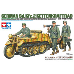 Tamiya 35377 Kettenkraftrad Mid Production 1:35 Plastic Model Kit