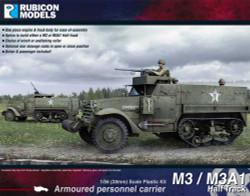 Rubicon Models 280027 M3 / M3A1 Half Track 1:56 Plastic Model Kit