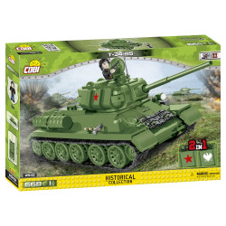 Cobi 2542 Historical Collection T-34/85 1:48 Model Tank WWII 580pcs