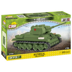 Cobi 2702 Historical Collection T-34-85 1:48 Model Tank WWII 273pcs